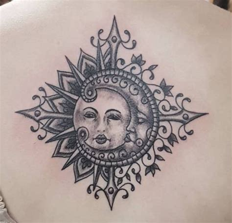 sun and moon tattoo meanings ink vivo