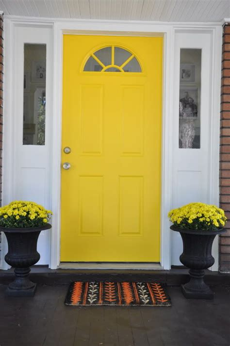 Yellow Front Door Yellow Front Door