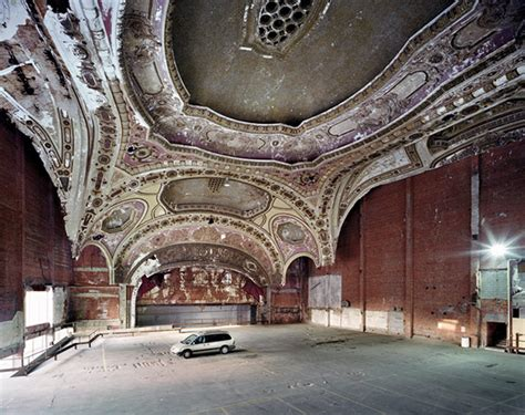 former theater makes the most beautiful parking garage in detroit in ruins the decline of a major american city