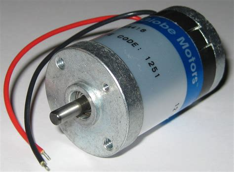 Jual Motor Dc Low Rpm globe motors 405a 12v dc motor 5000 rpm im 13 stack low current ebay