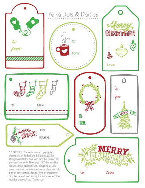 print your own christmas gift tags free fun for christmas