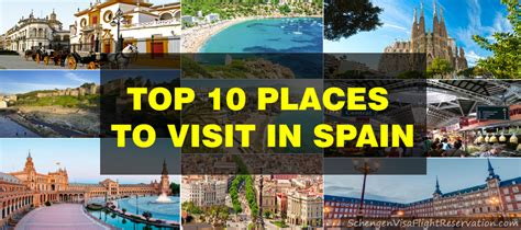 Top 10 Places To Travel To In The Us by Top Places To Visit In Spain Best Place 2017