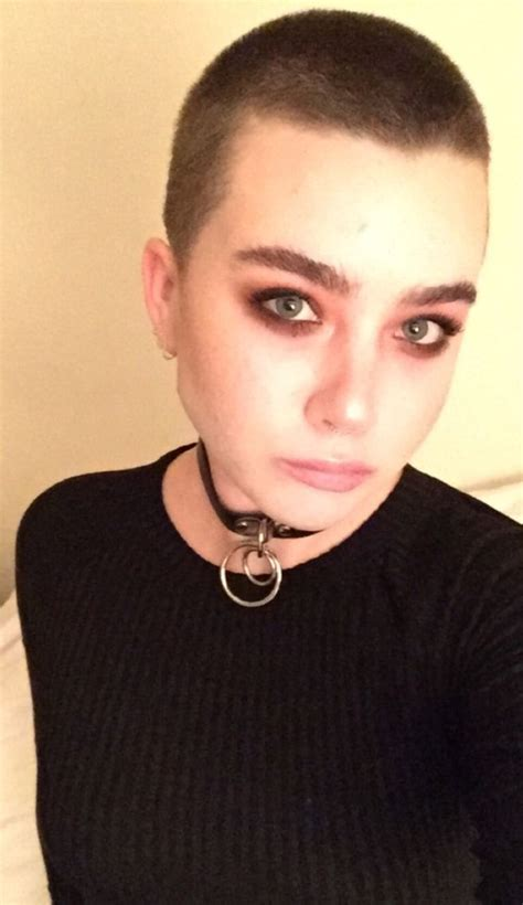 headbands on buzz cut hair 349 best female buzz cuts images on pinterest grace o