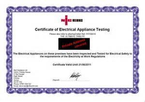 pat testing certificate template pat testing certificate template downloadable electrical