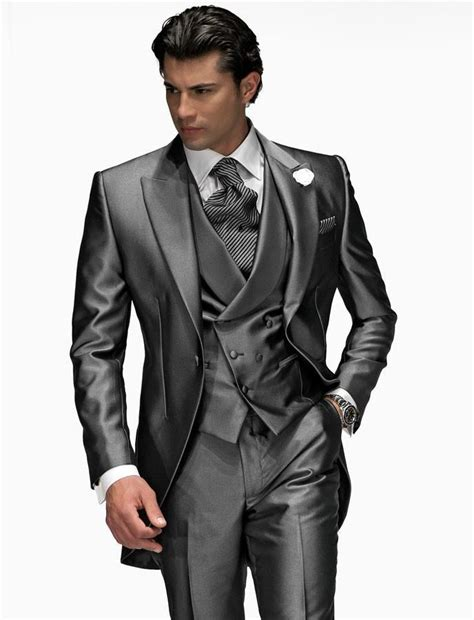 Handmade Suits - custom made wedding suits groom tuxedos formal best