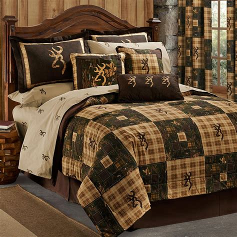 Country Bed Comforter Sets Clearance Canoe Creek Bedding Collection Cabin Place