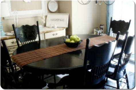dining room table redo diy