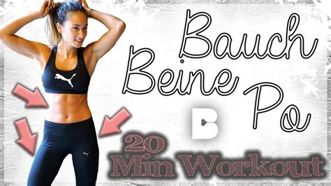 workout für zuhause bauch beine po best 25 bauch beine po workout ideas on bauch
