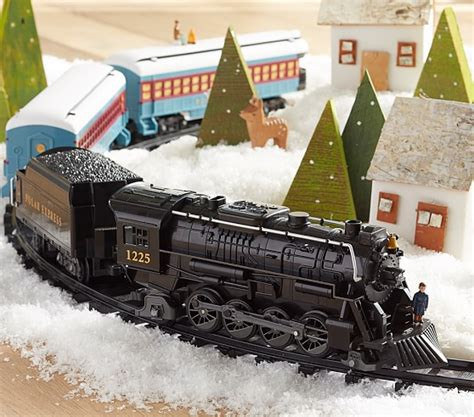 Lionel polar express train pottery barn kids