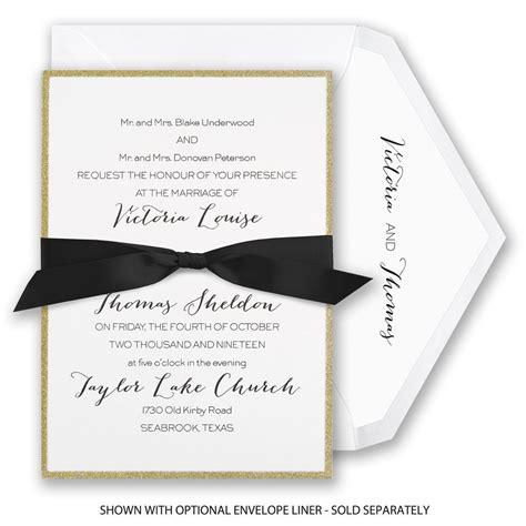 Glow Invitation Weddingku by Golden Glow Invitation Invitations By