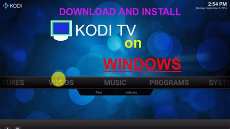 http kodi tv download how to download and install kodi tv on windows computer