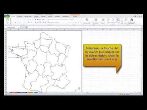 tutorial excel 2010 gratuit excel 2010 comment importer une carte g 233 ographique dans