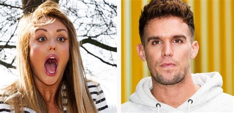 gary beadle admits it was awkward seeing charlotte after gaz beadle charlotte crosby just reunited in a hotel and