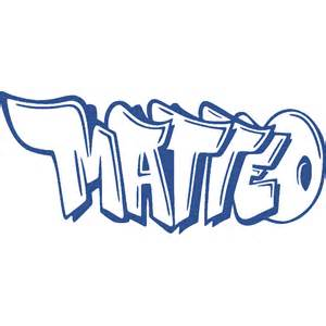 Custom Name Wall Stickers stickers news matteo graffiti art amp stick