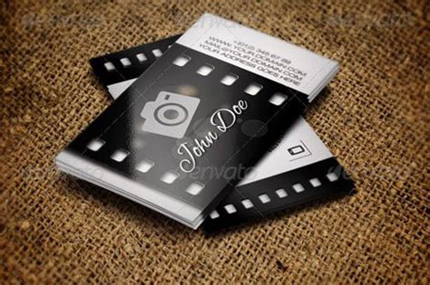 photographic card template best photography business card templates exle
