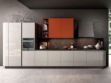 cucina lineare cucina moderna con anta curva arredamento mobili arredissima
