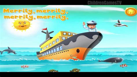 boat song for baby children songs row row row your boat nursery rhymes