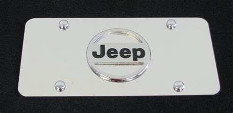 Jeep Tags Jeep Logo License Plates Vanity Logo Tags Jeep License