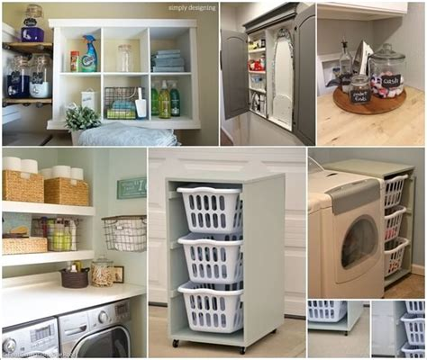 Laundry Room Storage Ideas Pinterest 10 Practical Diy Projects For Laundry Room Organization Storage Ideas Space Saving