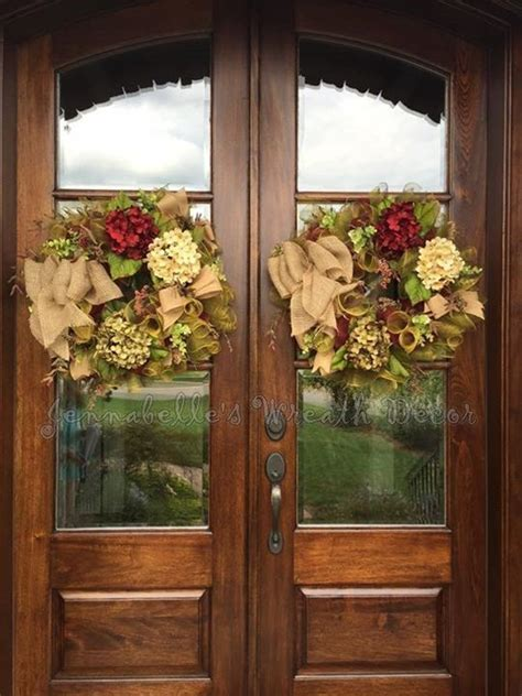 Wreath Ideas For Front Door 25 Best Ideas About Door Wreaths On Letter Door Wreaths Fall Burlap Wreaths