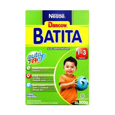 Dancow Batita Vanila Dha 150gr jual dancow batita vanila 500gr box formula