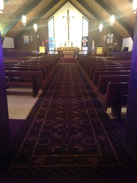Church gets NEW carpet!   Schuster Design Studio, Inc