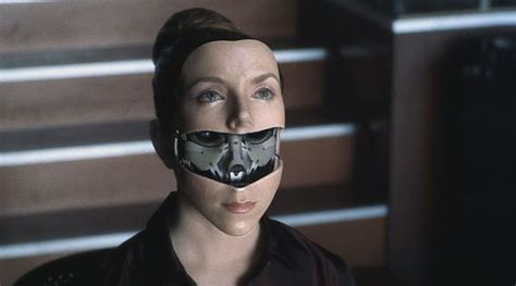 film robot woman ai artificial intelligence facial access panel