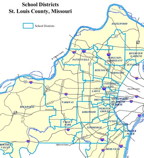 section 8 st louis county map of greater st louis pictures to pin on pinterest
