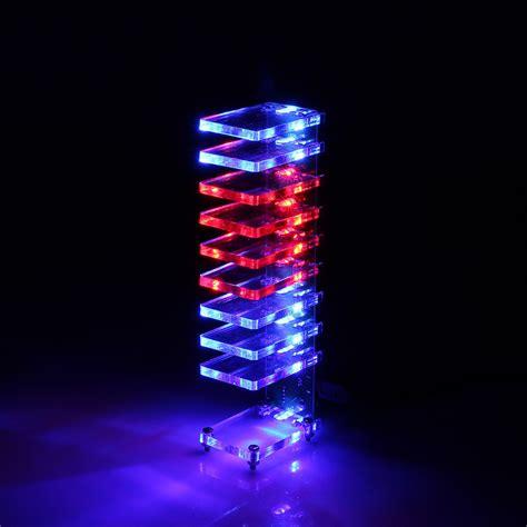 diy led light kit diy electronic column light cube led
