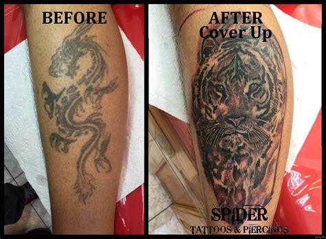 tattoo cover up before after gallery tatuaże zakrywające zasłaniające niedoskonałości