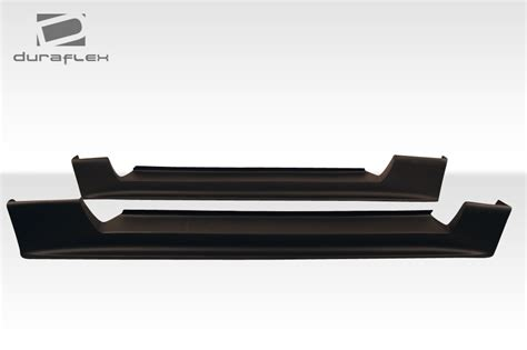 99 04 mustang side skirts 99 04 ford mustang cbr500 duraflex side skirts wide
