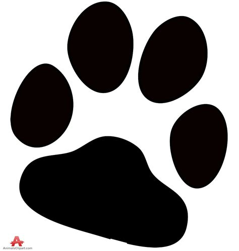 paw puppy paw prints pictures clipart best