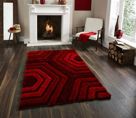 Noble House Rugs by Shaggy Pile Noble House Rug Soft Tufted Hexagonal