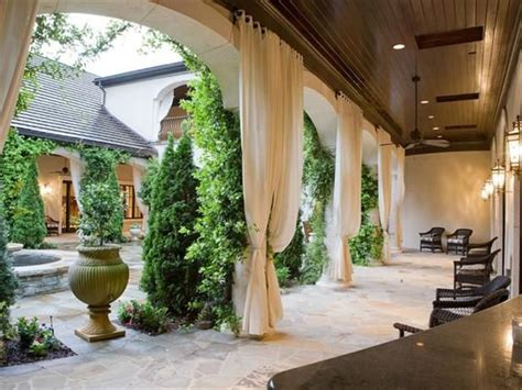 outdoor curtain rods for patio 25 best ideas about outdoor drapes on pinterest patio