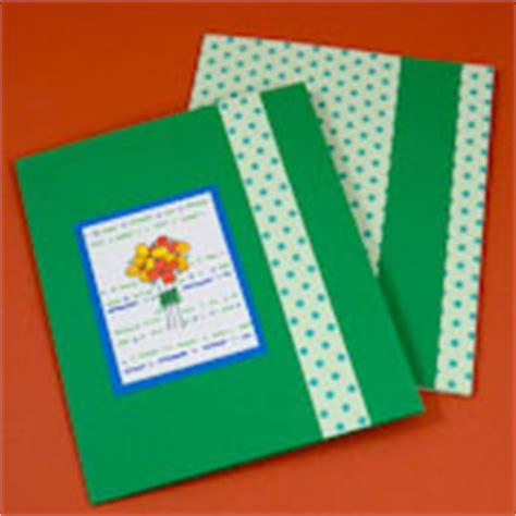 How To Make Handmade File - tutorial for a greeting card pocket folder