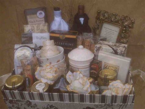 wedding gift basket ideas wedding gift baskets for and groom wedding and bridal inspiration