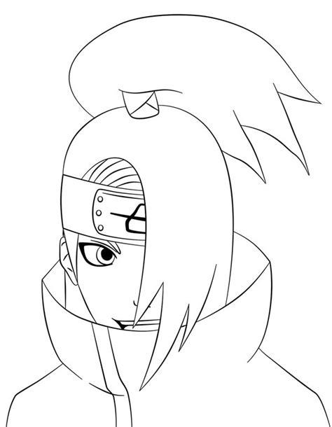 Topi Anime Hitam deidara lines by sasukeroxmysox2 on deviantart