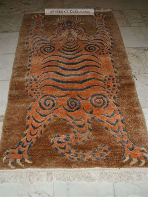 tiger teppich tiger rug nepal tibet tiger teppich tapis tigre