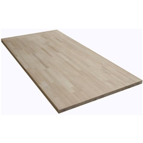 Birch Butcher Block Countertops by Shop The Baltic Butcher Block 6 Ft Wood