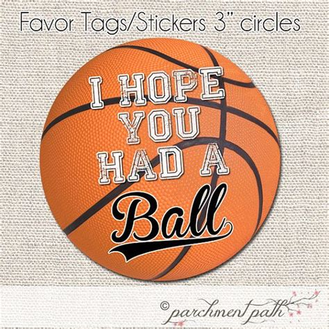 printable basketball stickers basketball favor tags basketball stickers printable
