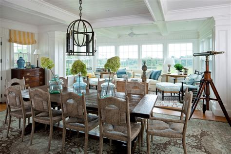 beachy dining room style dining room