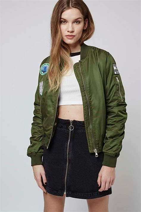 Newcomer Terbaru Jaket Bomber Army Original 10 ways to wear the 2016 bomber jackets trend fashionisers