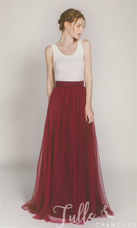 Tulle Top Dress tulle skirt for bridal tbqp346