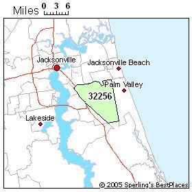 zip code map jacksonville beach fl jacksonville fl zip codes