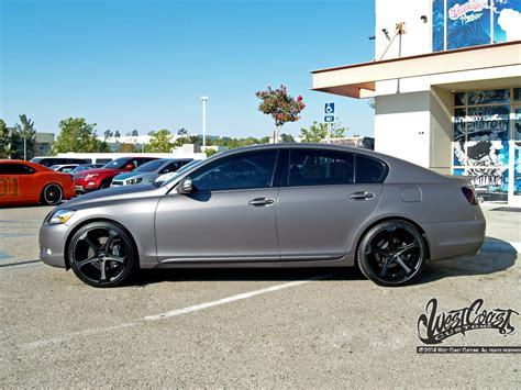 lexus metallic lexus gs350 charcoal matte metallic wrap wrapfolio