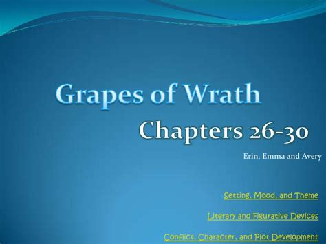 grapes of wrath home theme grapes of wrath study guide chapters 26 30