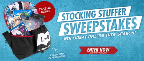 A Sweepstakes - viz blog sweepstakes