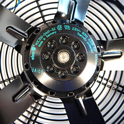 ebm papst blower fan ebm papst a blade axial blower fan model w2e300 da01 52