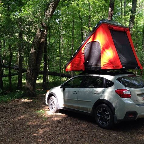 subaru crosstrek forest 17 best images about rooftop tent living combo on