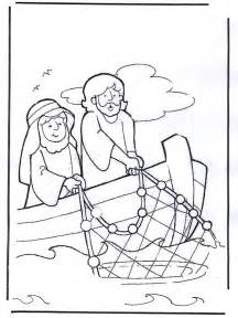 17 images jesus casting nets easter sunday kids